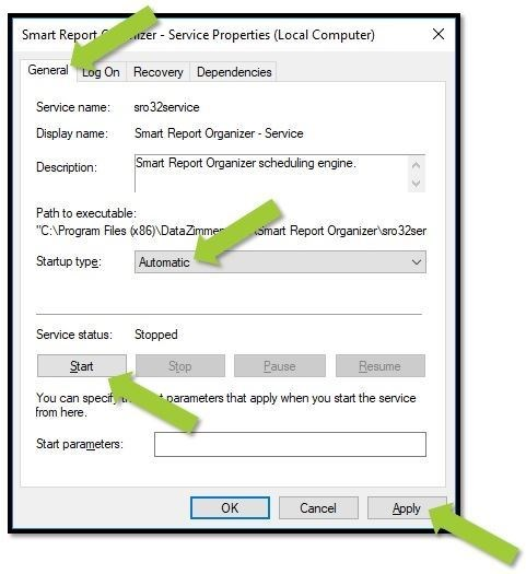 windows service step3